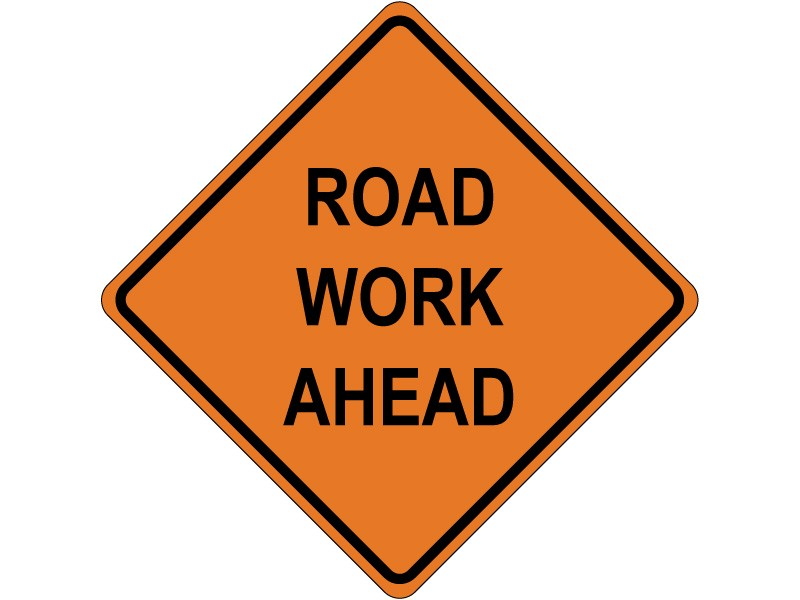 road work ahead 5