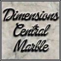 Dimensions Central Marble